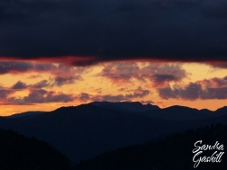 Sawtooth Sunset